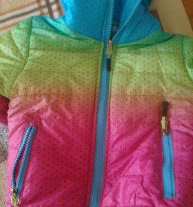 Новая куртка на флисе