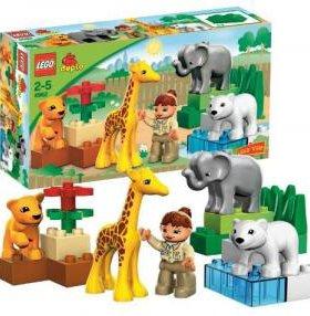конструктор Лего Дупло Зоопарк для малышей