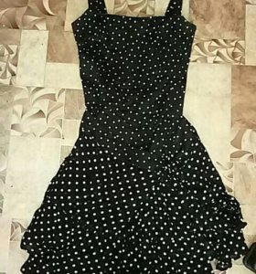 Платье. Искусственный шёлк.