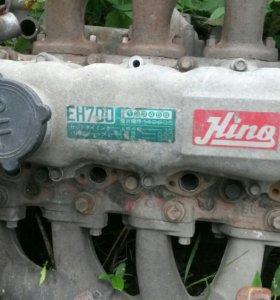 Двигатель на а/м hino ranger ЕН700