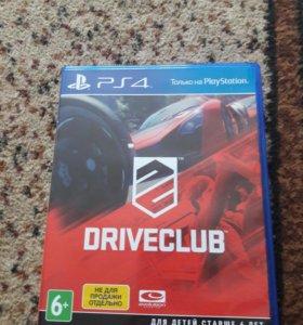 Игра для PS4 Driverclub