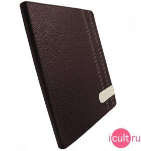Кожаный чехол Krusell Gaia Brown для iPad 2/3/4