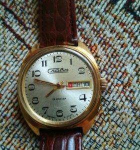 часы слава 26камней