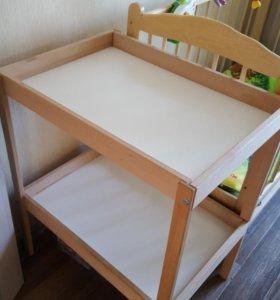 Пеленальный столик от Икея