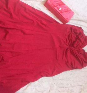 Шикарное платье и клатч.