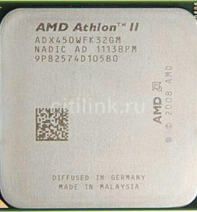 Amd athlon ii x3 450 3.2 ГГц