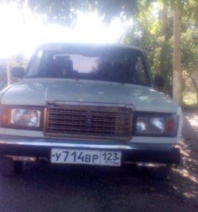 ВАЗ 2107 20000 ГОД газ бензин