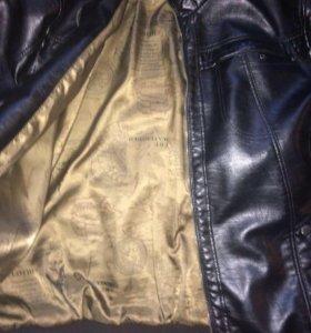 Кожаная куртка 54-56)