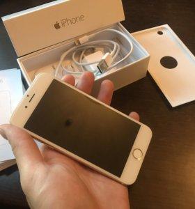 iPhone 6 16 gb gold ( золотой ) полный комплект