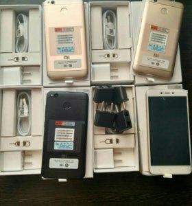 Xiaomi redmi 4x 2/16gb , 3/32gb