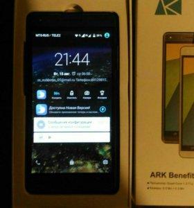 Продам телефон ark benefit s 502
