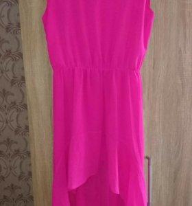 Ультра яркое модное платье