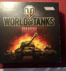 World Of Tanks Rush - настольная карточная игра