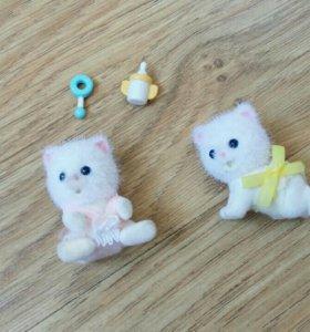 "Sylvanian Families набор ""Котята двойняшки"""
