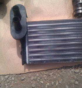 Новый радиатор отопителя