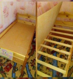 детская кровать ручной работы