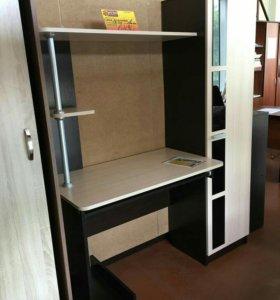 Стол компьютерный-1 (Венге/Дуб млечный)
