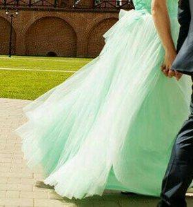 Вечернее-свадебное платье