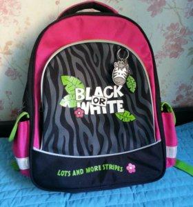 Рюкзак школьный Еrich Krause zebra