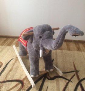 """Игрушка-качалка """"Слон"""""""