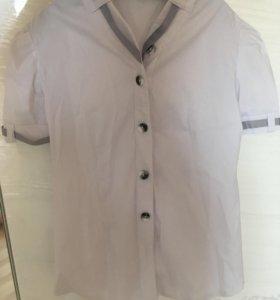Блузки для девочки ( школьные)