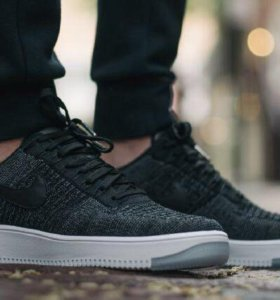 Nike air force flyknit низкие