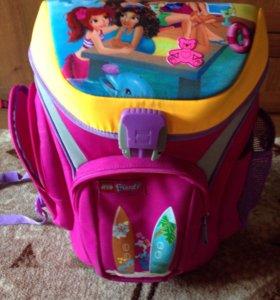 Рюкзак лего для девочек