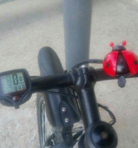 Велокомпьютер велофара Звонок