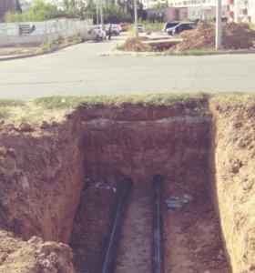 Безтроншейная прокладка трубопровода