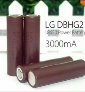 Аккумуляторы LG HG2  18650 .
