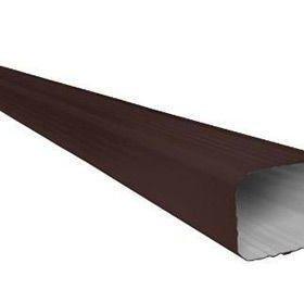 Труба водосточная гофрированная 76х102х1000мм