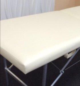 Кушетка для наращивания ресниц белая