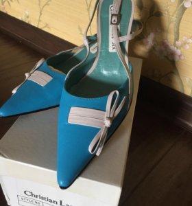 Туфли босоножки Кристиан Лакруа