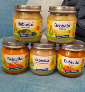 Детское пюре Bebivita