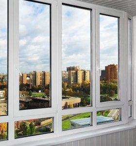 Окна, балконы, лоджии ПВХ