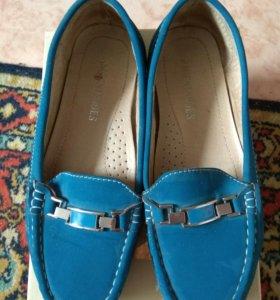 Туфли мокасины р. 36-37