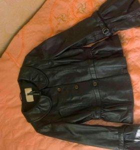 Натуральная кожаная курточка