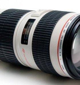 Объектив Canon EF 70-200 mm L usm F/4.0
