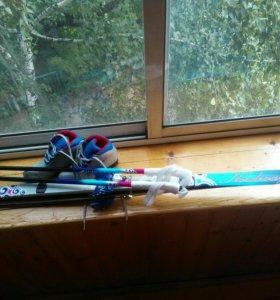 Лыжи/лыжные ботинки