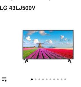 Телевизор LG 43-LJ500V