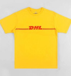 Футболка vetements dhl