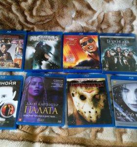 8 Blu ray (лицензия) + dvd из личной коллекции