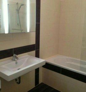 Ремонт ванной комнаты.Укладка плитки