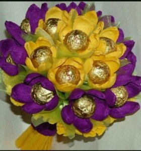 Букеты# корзины#цветы#конфеты#банты#на 1сентября.