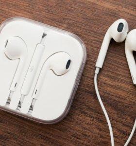 Наушники - гарнитура EarPods для iPhone