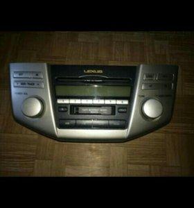 кнопки магнитолы lexus rx300 2004