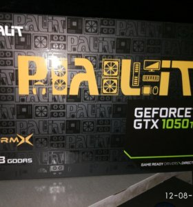 Geforce gtx1050ti от palit