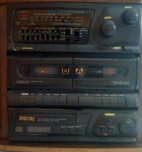 Винтажный музыкальный центр из 90х