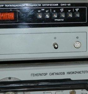 Ваттметр ОМ3-65 + преобразователь.