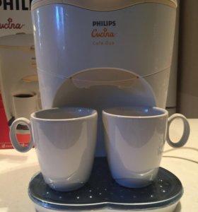 Новая кофеварка Fhilips duo caps